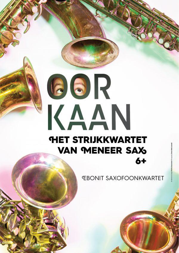 Het strijkkwartet van Meneer Sax