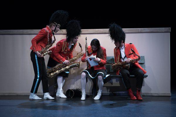 Het Strijkkwartet van Meneer Sax, komende zomer te zien op de Parade én Wonderfeel!
