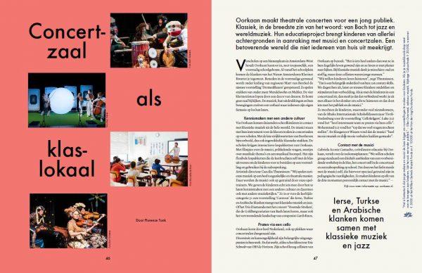 Oorkan in het Cultuurfonds Magazine